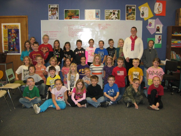 My friends from the Reinbeck Elementary SchoolPhoto by Marcia Koester