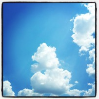 Fluffy clouds! :)