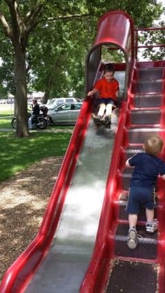 Everyone loves a slide. :)