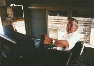 Daddy loved trains, as you'd expect from someone who grew up in the land of the hobos.