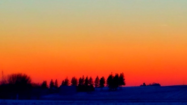 frozensunset