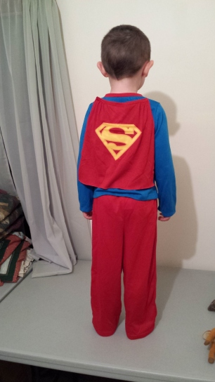 Cutest. Superman. Ever. :)