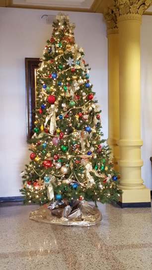 A pretty tree for a pretty courthouse. :)