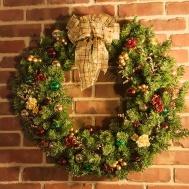 I do so love this wreath. :)